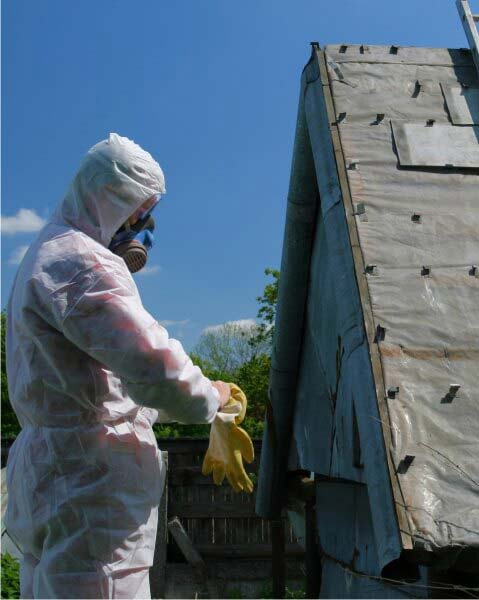 Leave asbestos removal to the professionals!